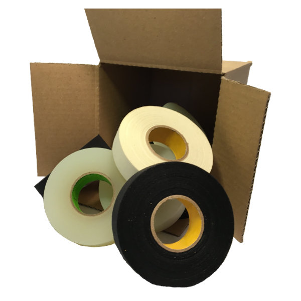 Our 20 roll box of hockey tape.